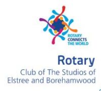 Rotary Clun of the Studios of Elstree and Borehamwood
